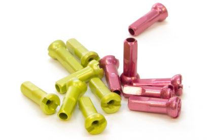 Sapim aluminium spoke nipples – 14mm