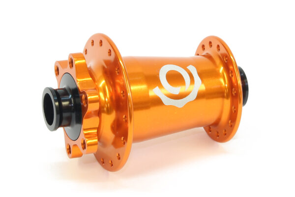 Industry Nine Torch MTB 6-bolt front 32 hole orange