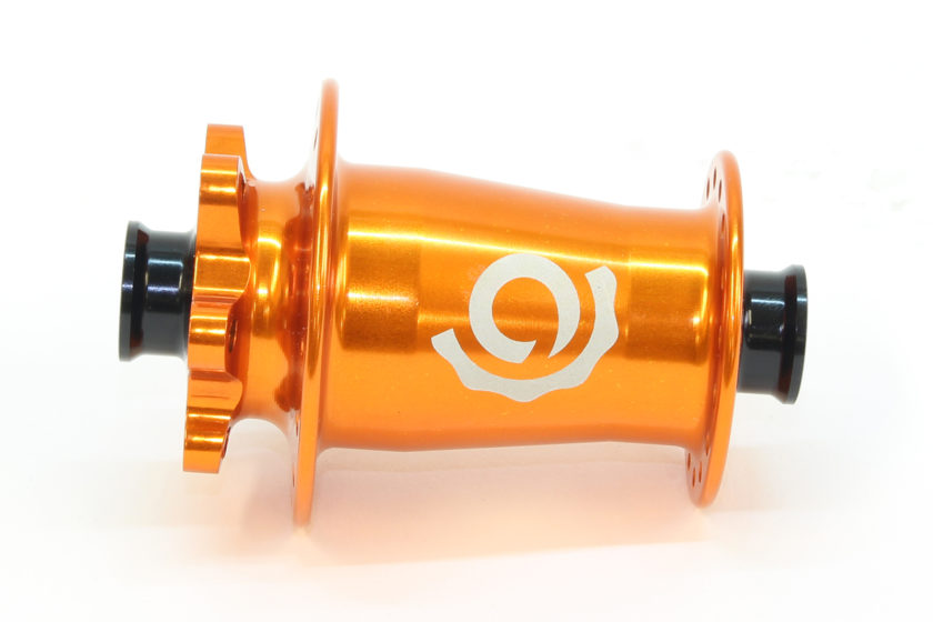 Industry Nine Torch MTB 6-bolt front 32 hole orange