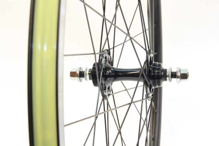 rear track hub with 120mm spacing