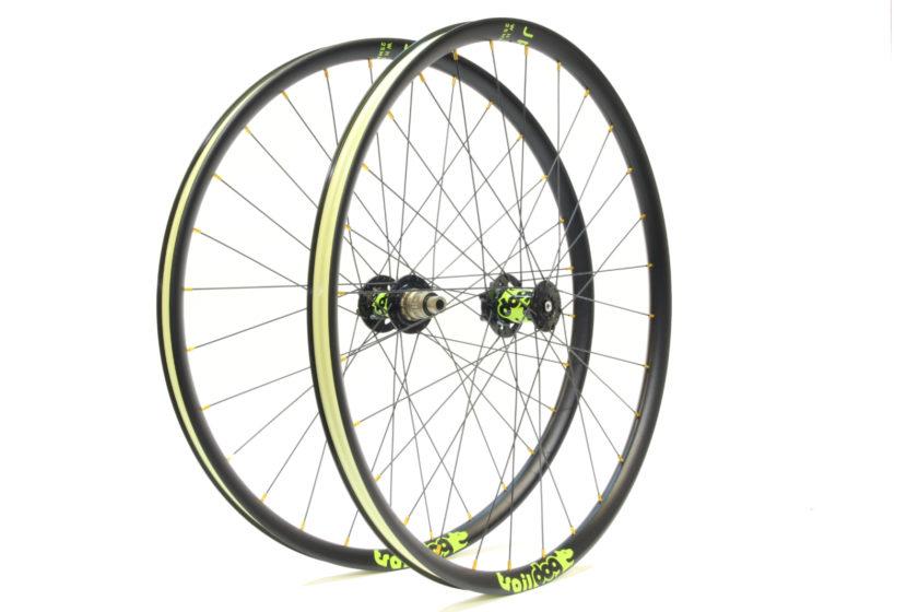 Traildog XC aluminium wheelset