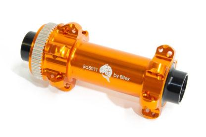 JRA centre-lock straight-pull front hubs