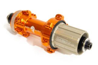 JRA centre-lock straight-pull rear hubs