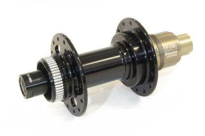 JRA centre-lock J-bend Boost 148 rear hub