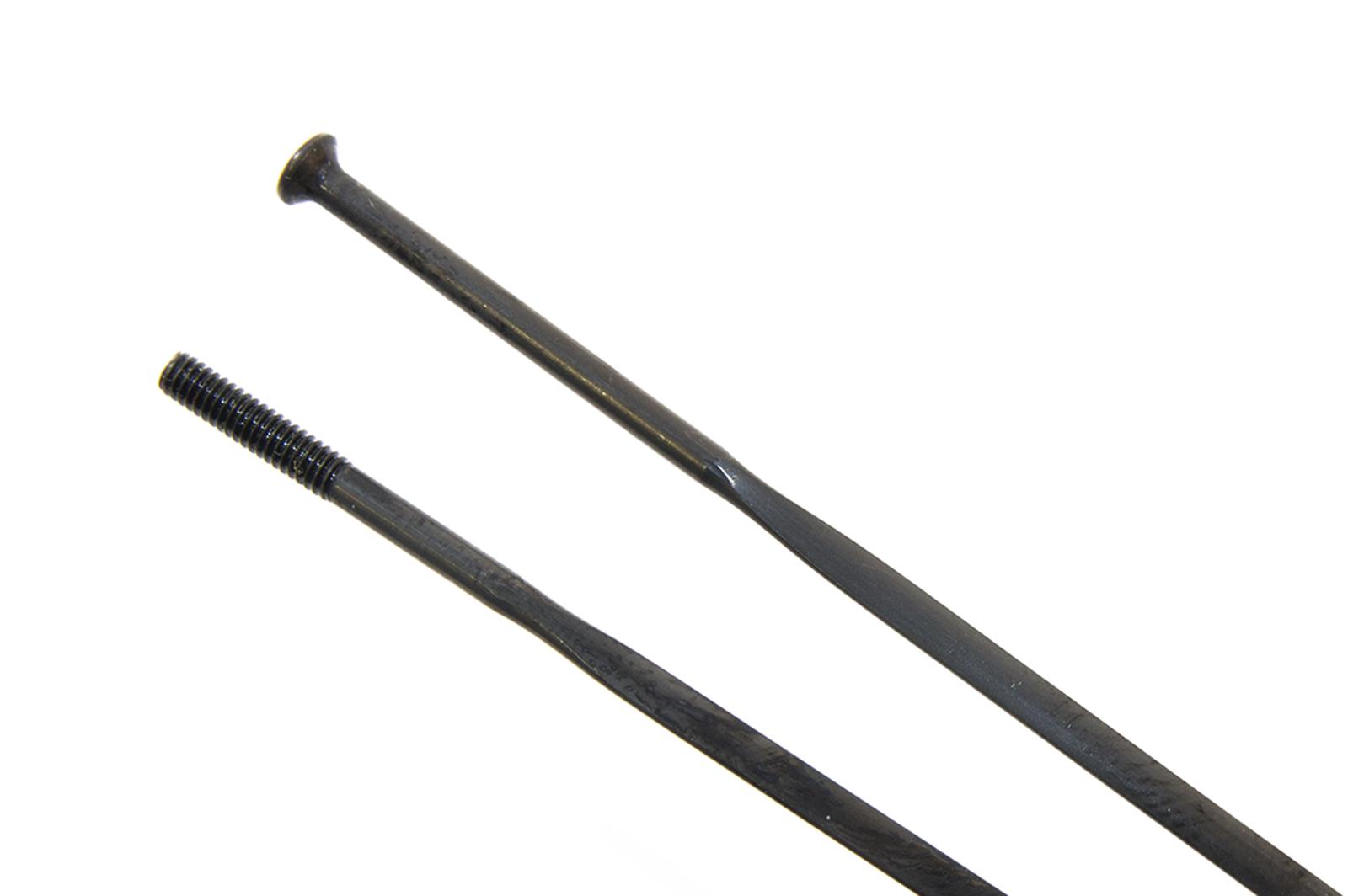 Sapim CX-RAY Silver /& Black Stainless Steel Aero Flat Bladed Spokes black 248mm